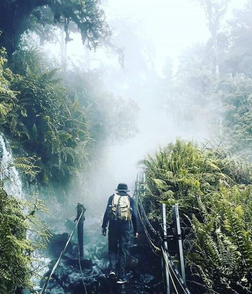 jalur pendakian gunung gede pangrango